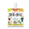 メタボリック イースト×エンザイム ダイエット ゼリー グレープフルーツ味 150g×6袋(1箱)