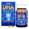 ユウキ製薬 高純度 DHA スーパー70 60球 【健康補助食品】