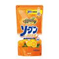 カネヨ石鹸 ソープン オレンジ オレンジオイル配合 詰替用 500ml (食器洗い用洗剤)