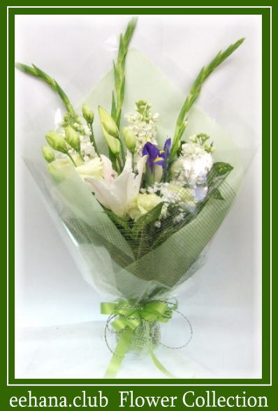 お供え・お悔やみに贈るお花★レザン3,000円-【花束】ネット特価!