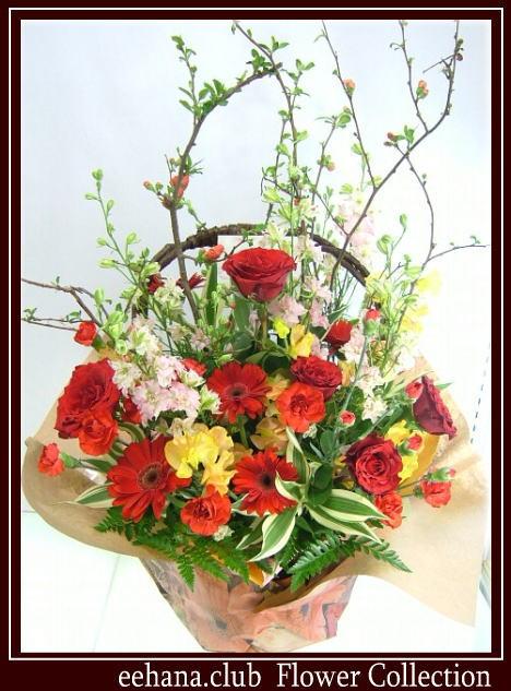 お祝いに贈る花★アンダルシアアレンジ10,000円【送料無料】ネット特価!