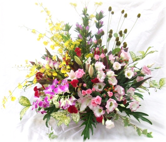 開店やお祝いに贈る花★エクセレントアレンジ30,000円【送料無料】ネット特価!