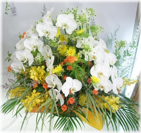開店やお祝いに贈る花★シャトレールアレンジ30,000円【送料無料】ネット特価!