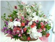 開店やお祝いに贈る花★ハイヤットアレンジ30,000円【送料無料】ネット特価!