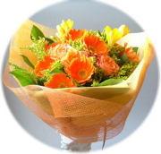 オレンジハウス3,000円-花束 ネット特価!