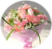 ピンクハウス3,000円-花束 ネット特価!