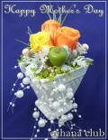 ★母の日★プリザーブドフラワー【ビタミンオレンジ】3,500円【送料無料】ネット特価!