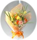 ミニオレンジ2,500円-【花束】ネット特価!