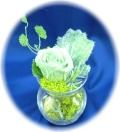 プリザーブドフラワー クリスタルライムグリーン1,200円-ネット特価!
