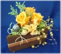 プリザーブドフラワーケーキオレンジ2,980円-ネット特価!