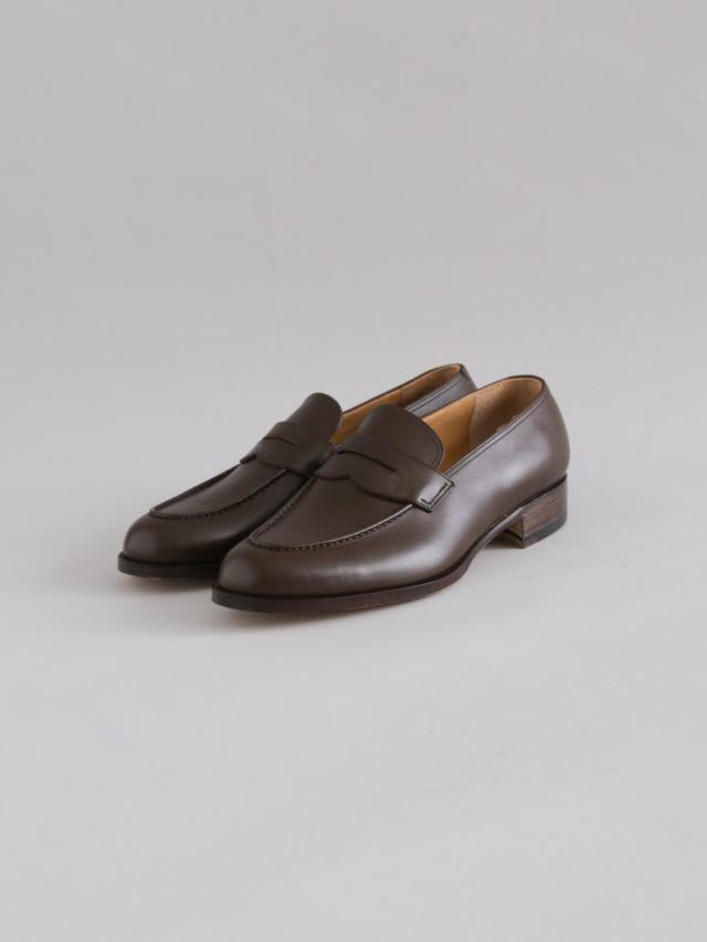 forme フォルメ / Men's loafer dark brown