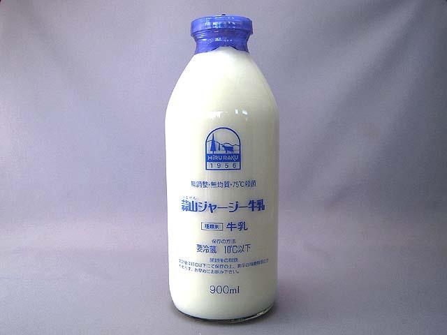 蒜山ジャージー牛乳(無均質・無調整)