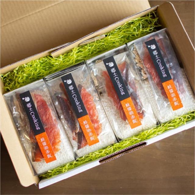 郷土Cooking 鮭醤油赤飯 4個セット