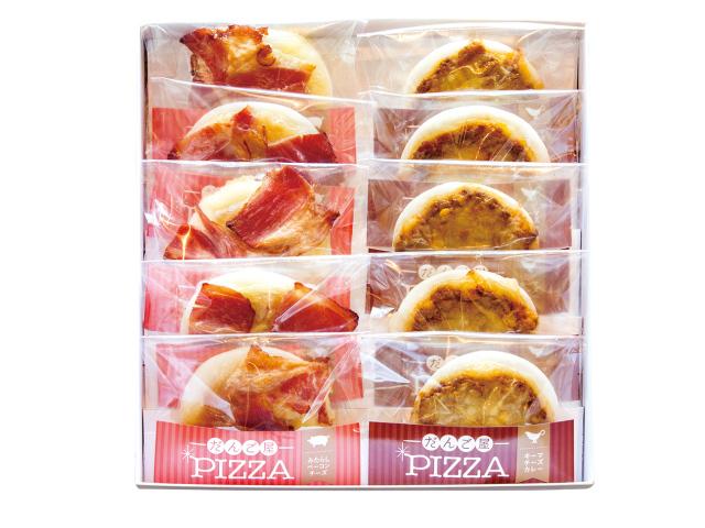 だんご屋PIZZA みたらしチーズベーコン5個入 キーマチーズカレー味5個入