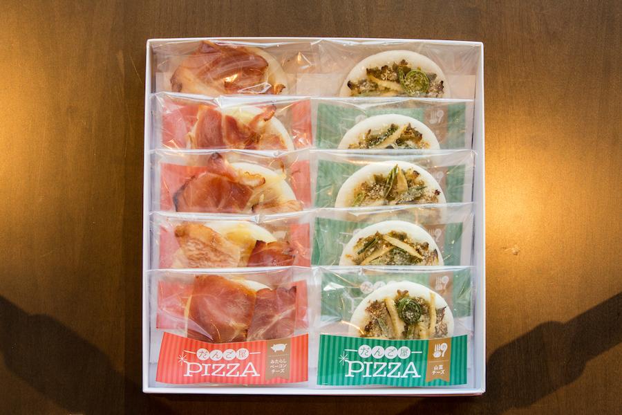 だんご屋PIZZA みたらしベーコンチーズ味5個入 山菜チーズ味5個入