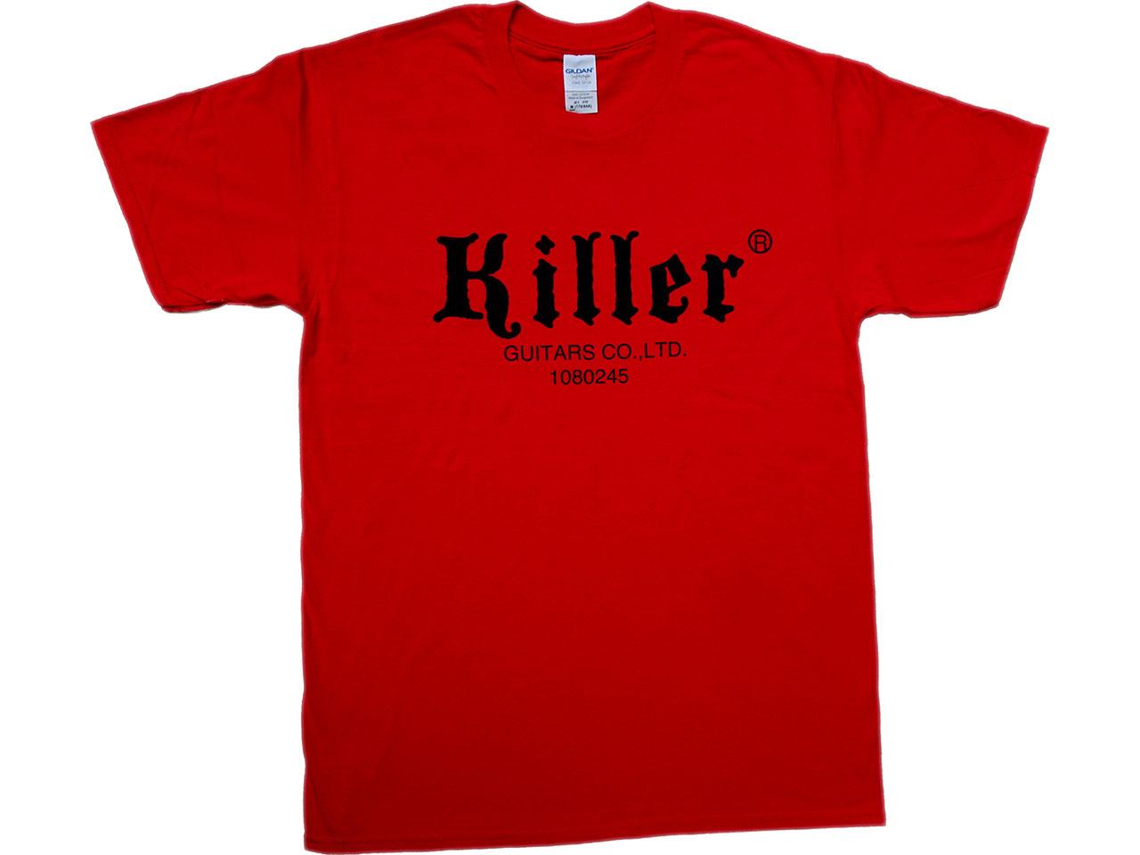 killer t-shirt red