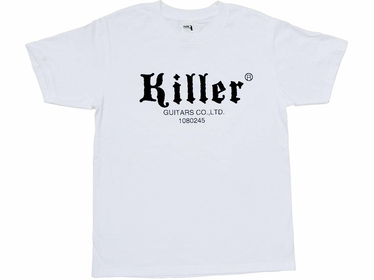killer t-shirt white