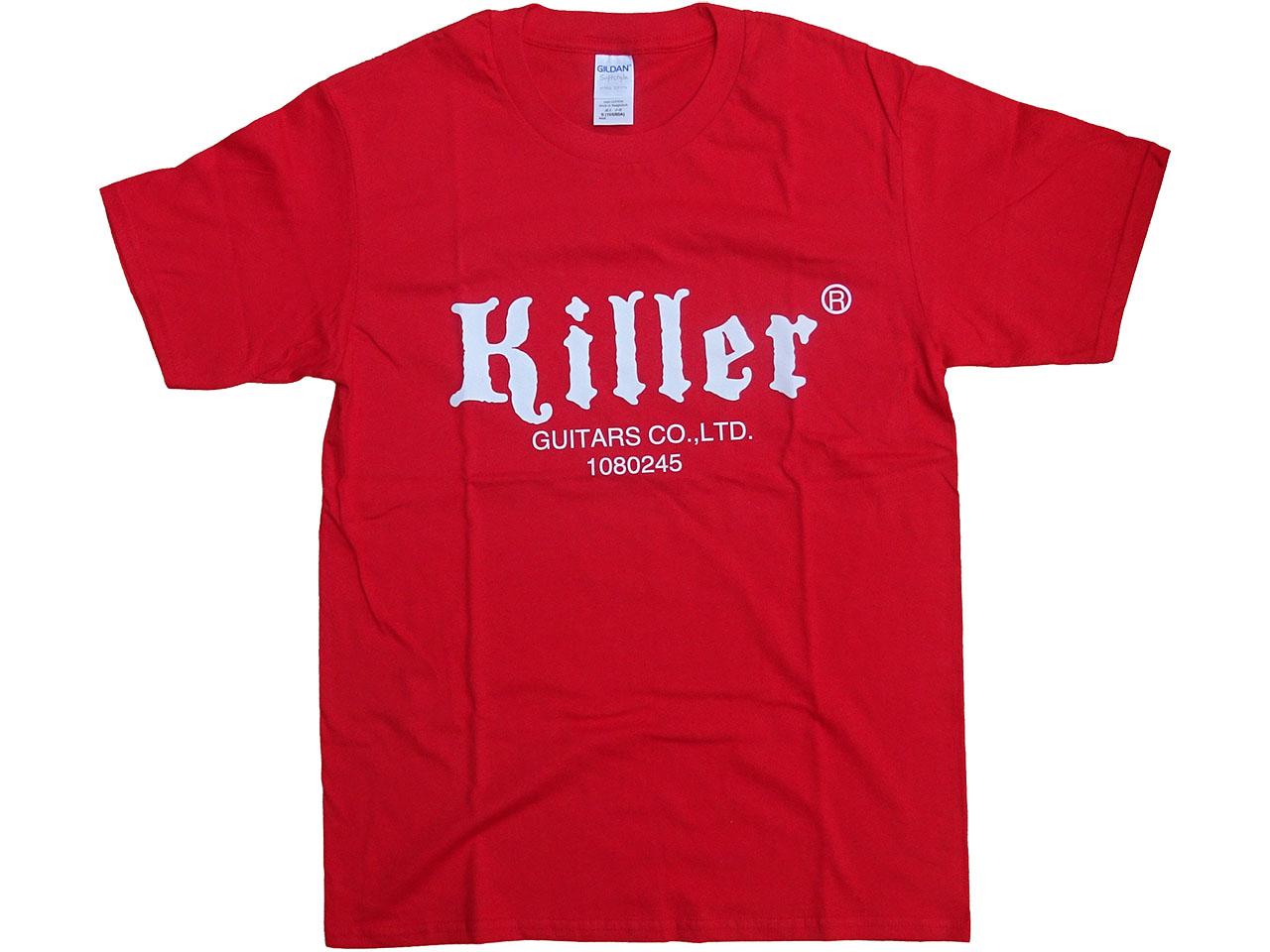 Killer Tシャツ 赤(白ロゴ)