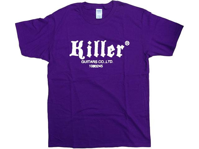 Killer Tシャツ 紫(白ロゴ)