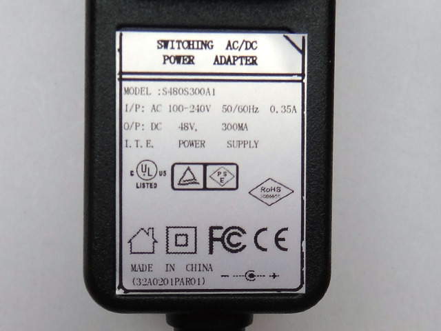 Nihon Electro Harmonix 48V Adapter
