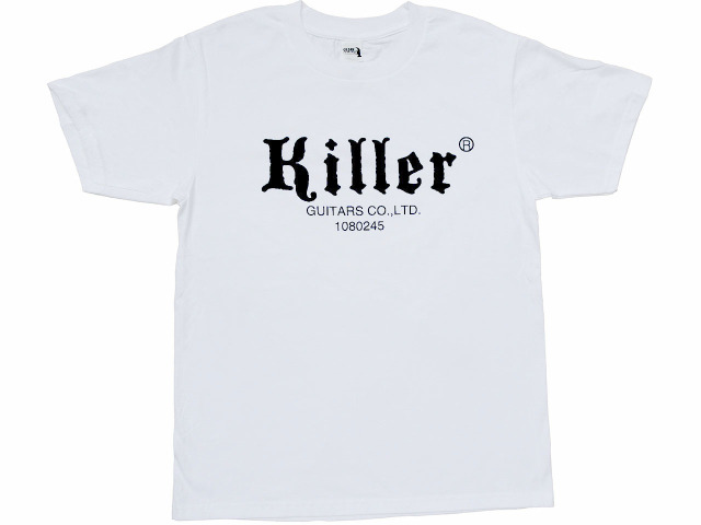 killer t-shirt white