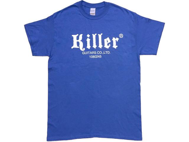 Killer Tシャツ 青 201911 USサイズ
