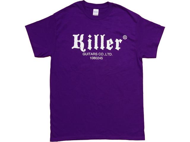 Killer Tシャツ 紫 白ロゴ 201911 USサイズ