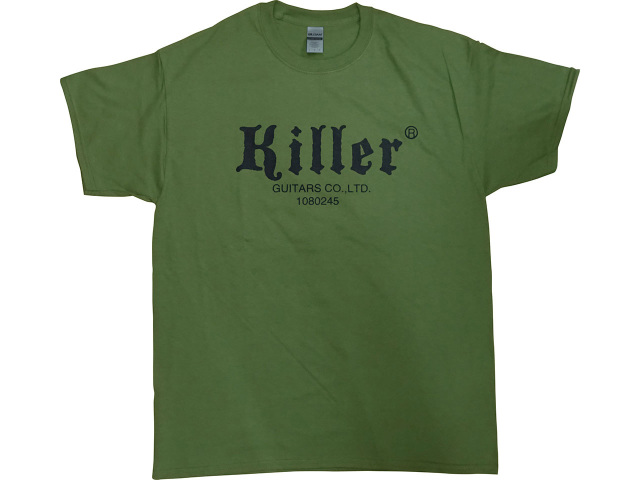 Killer tshirt military green