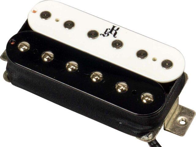 killer guitars dyna-bite zebra black white