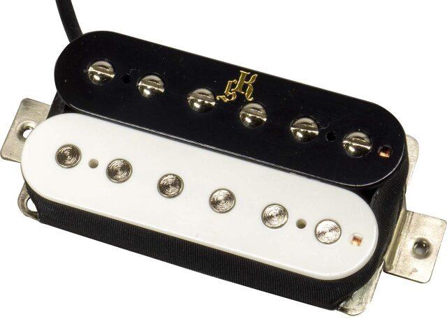 killer guitars lq-500 zebra white black