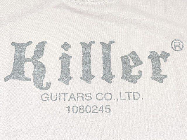 killer t-shirt ice gray logo