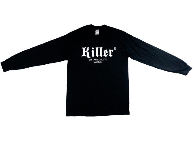 KILLER(キラー)ロングスリーブTシャツ|黒