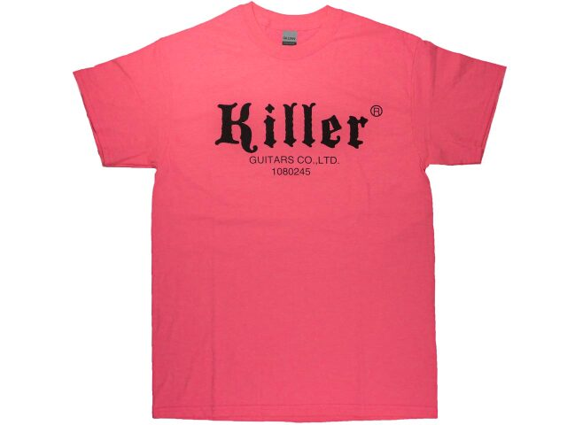 KILLER(キラー)Tシャツ|セーフティーピンク