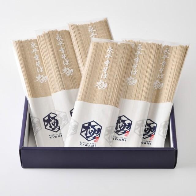 永平寺そば乾麺ギフト6袋(12人前相当)
