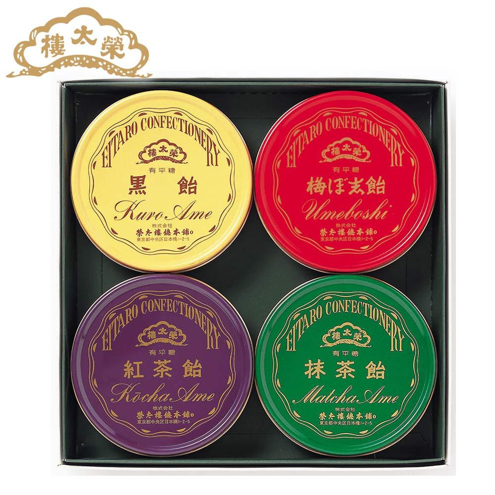 榮太樓 榮太樓飴 4缶入