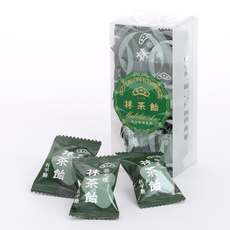 榮太樓 榮太樓飴 透かし箱 1本 12粒入 抹茶飴