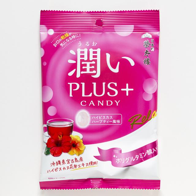 榮太樓 潤いPLUS+CANDY 6袋入