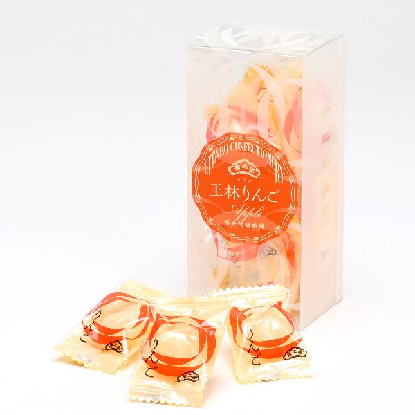 榮太樓 果汁飴 透かし箱 1本 12粒入 りんご