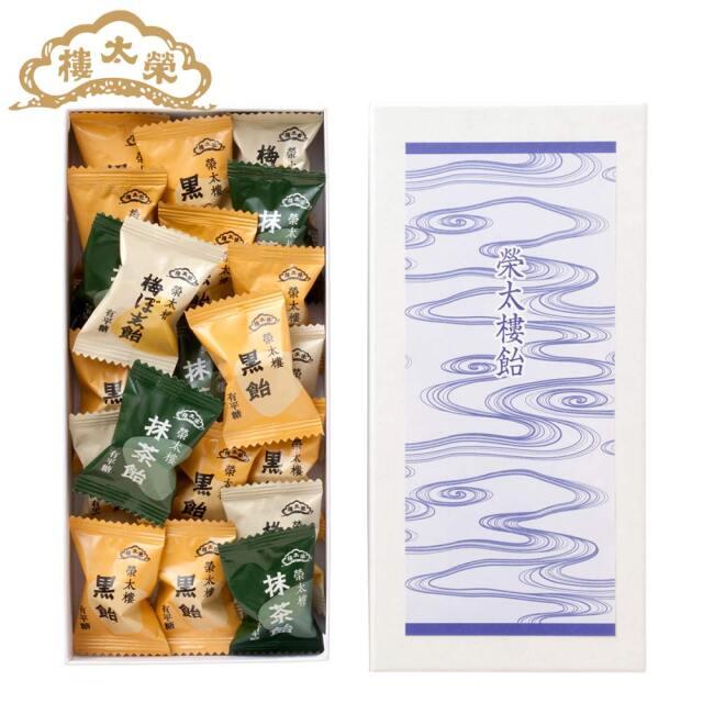 榮太樓 榮太樓飴 【仏事用】化粧箱入 18粒入