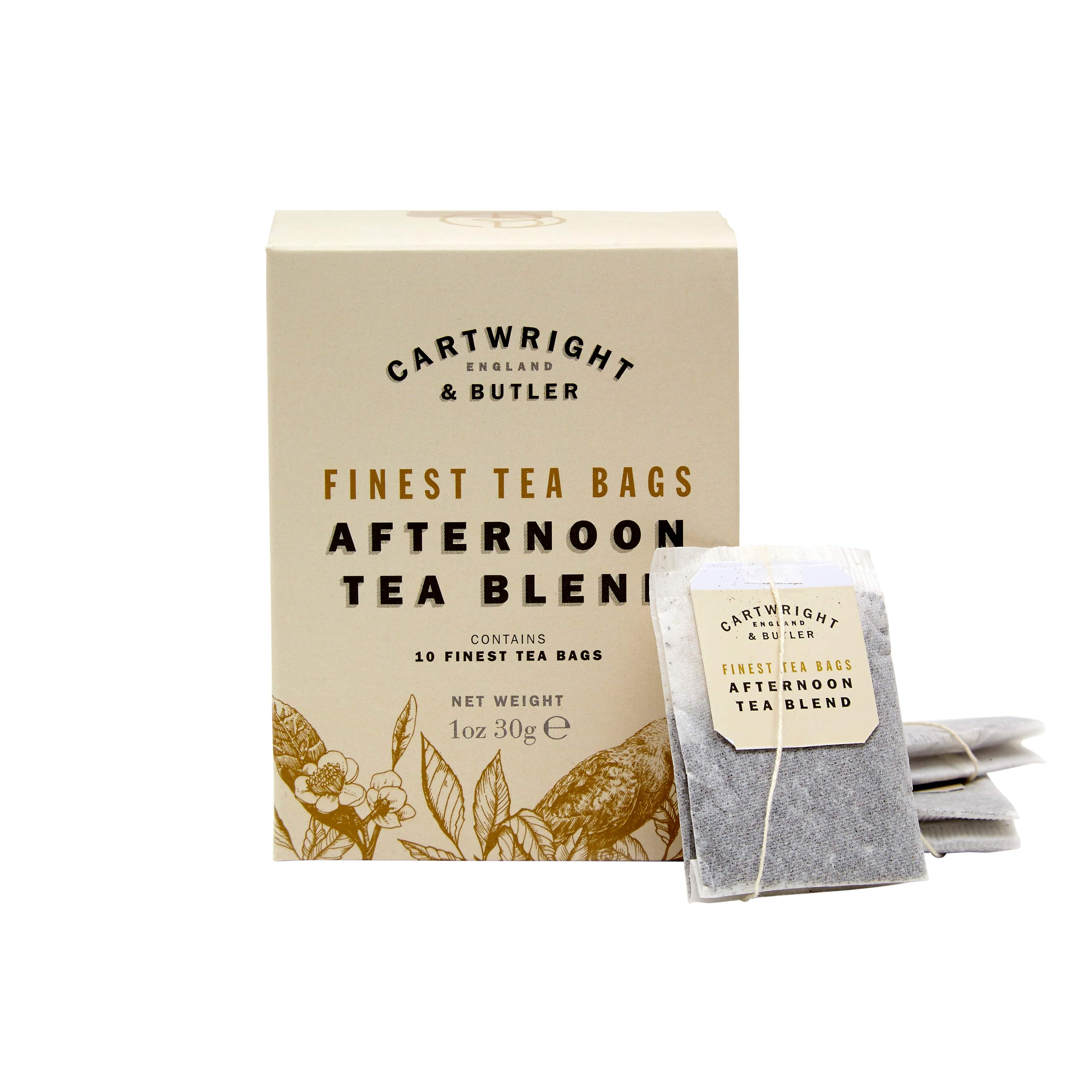 アフタヌーンティー CARTWRIGHT&BUTLER≪カートライトアンドバトラー≫ 紅茶(ティーバッグ) 小カートン イギリス 輸入