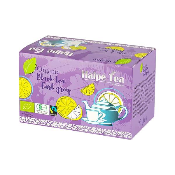 Halpe Tea 有機フェアトレード・アールグレイティー(ティーバッグ) 40g(2g×20袋) 有機紅茶