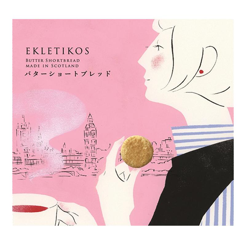 EKLETIKOS バターショートブレッド 8枚入(バター31%配合)