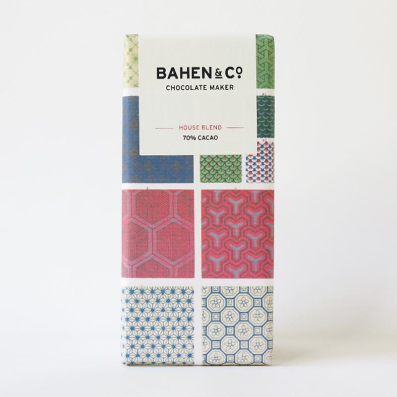 BAHEN & Co. 70% ハウスブレンドダークチョコレートバー