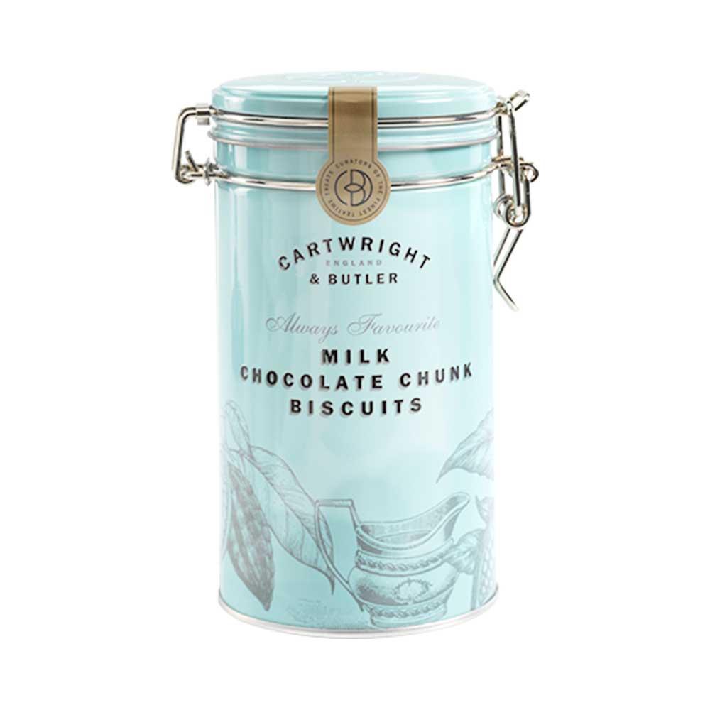 Cartwright & Butler ミルクチョコレート・ビスケット(缶)