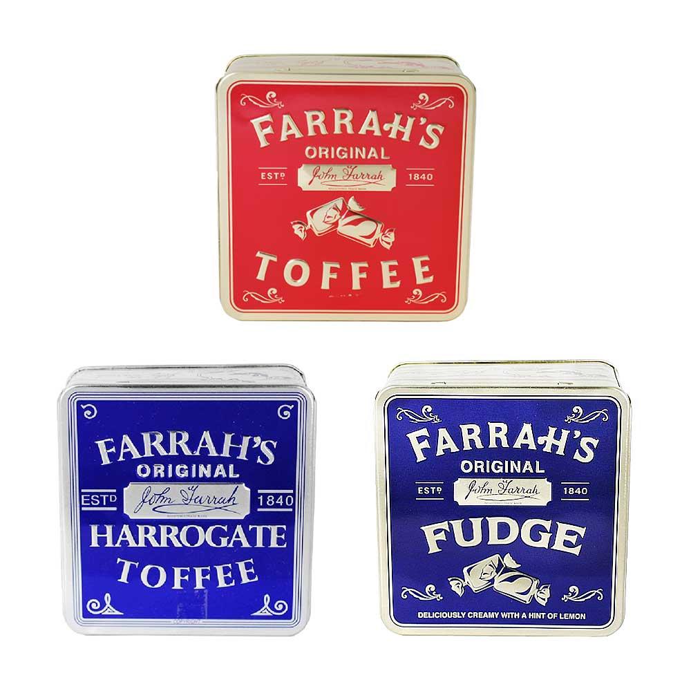 FARRAH'S ファラーズ フラット缶 3種セット