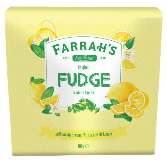 Farrah's オリジナル・レモン・ファッジ(箱) 100g×24箱セット