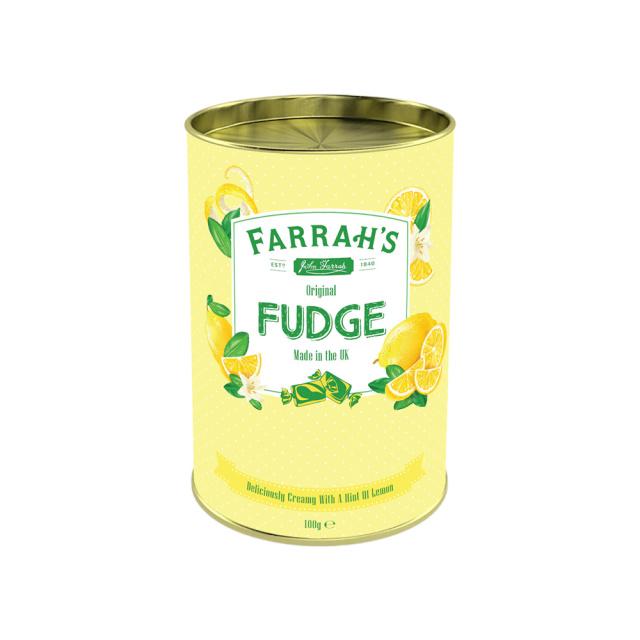 Farrah's オリジナル・レモン・ファッジ(筒)