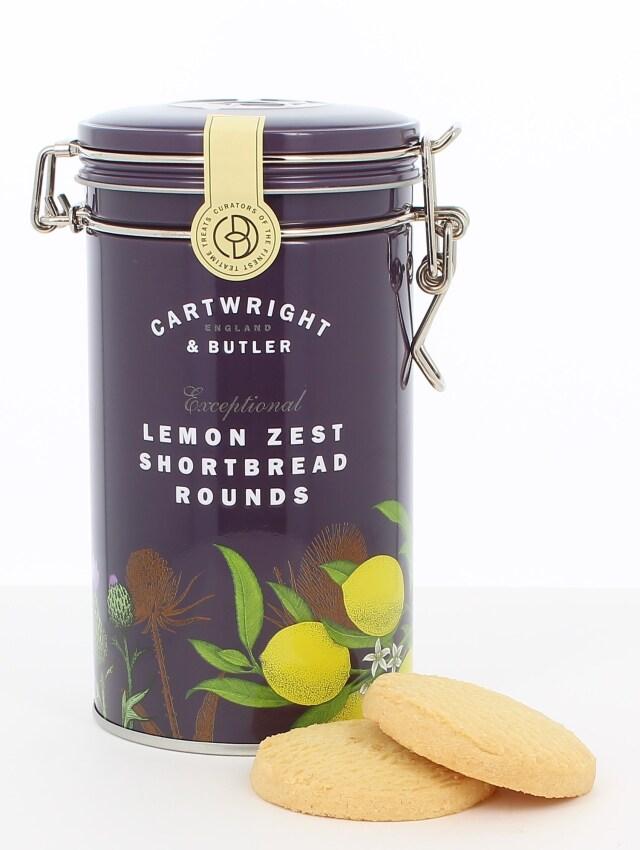 C&B レモンショートブレッド(缶)200g×6個セット
