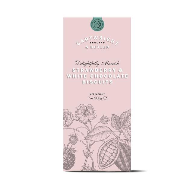 ストロベリー&ホワイトチョコ・ビスケット(箱)