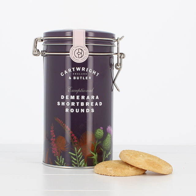 C&B デメララ(ざらめ)バターショートブレッド(缶)